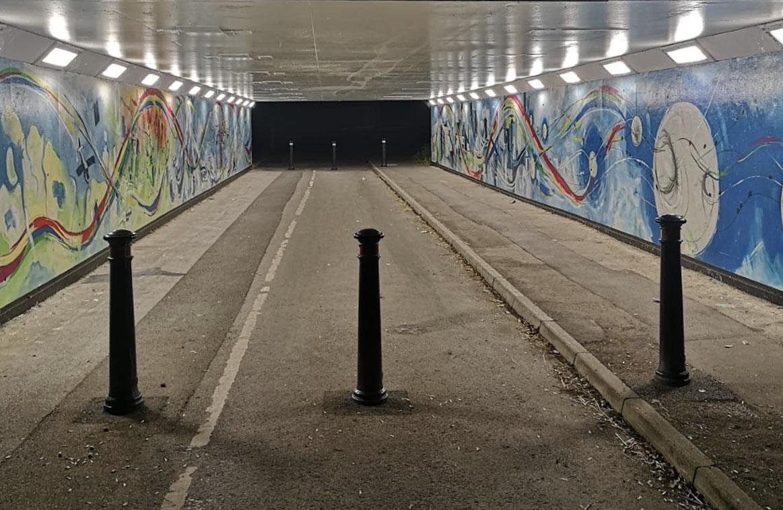 Safeway Lights Tunnel