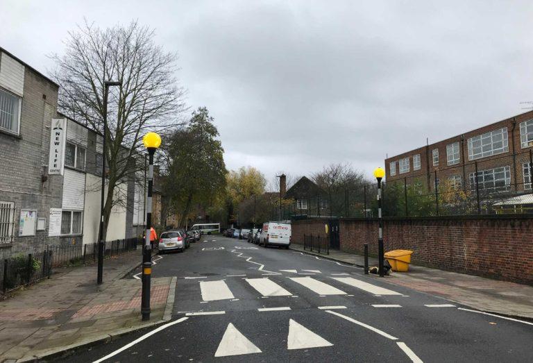 Belisha Beacon Installed In Islington
