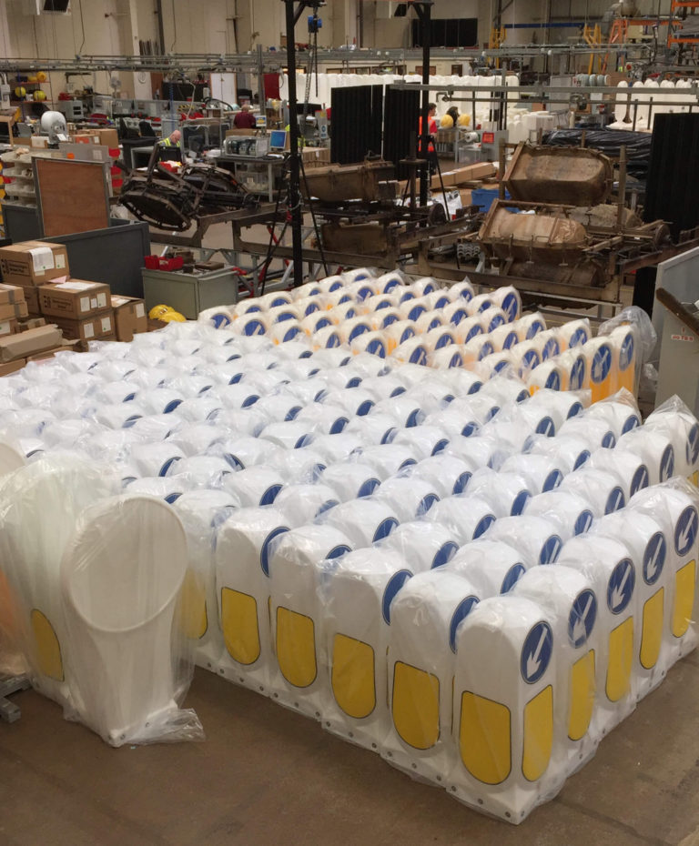 Simbol & Weebol Flex Safety Bollards Ready To Be Delivered