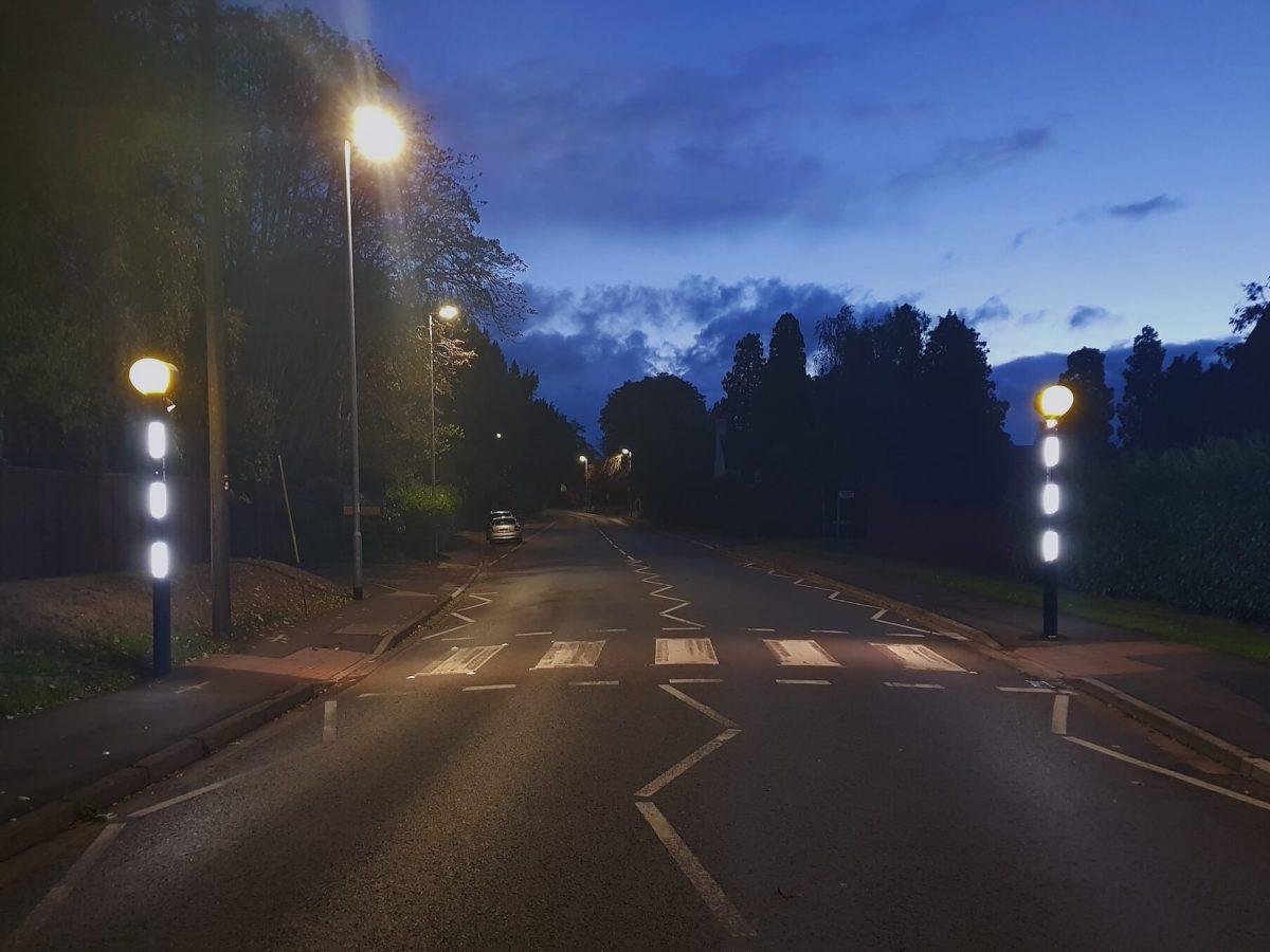 Pedestrian Crossing Lights Modupost & Modustar Somerset Installation
