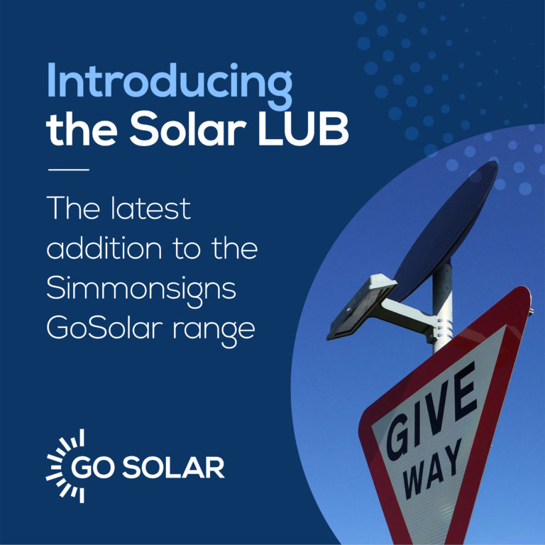 Introducing Our New Solar-Powered Road Sign Light, Solar LUB