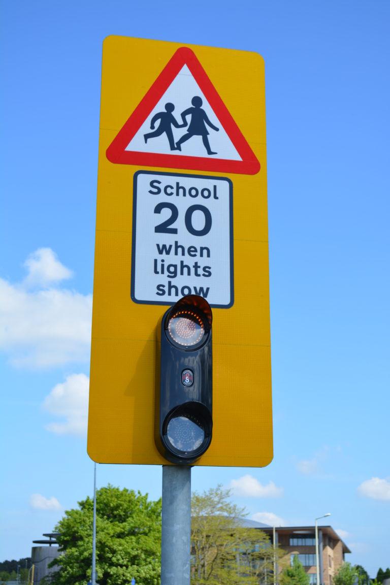 Simmonsigns Help To Ensure School Safety In Darker Days